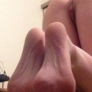 Foot Fetish - butt fetish
