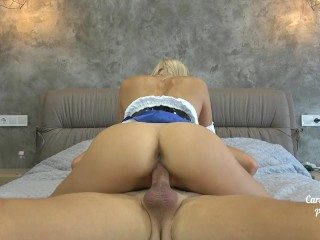 He cums twice in my pussy and asshole