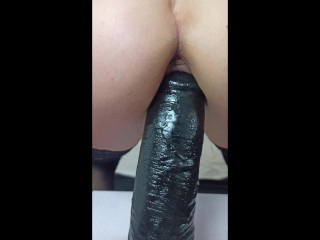 Extreme close-up POV of standing BBC ride - My cuckold taped it *.* 4K