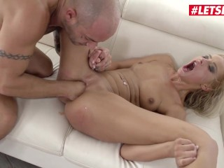 Her Limit - Tight Blonde Cherry Kiss Gets Rough Deepthroat, Anal & Fisting