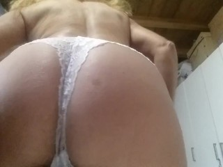 stretching my nipple piercing and flashing my pierced pussy
