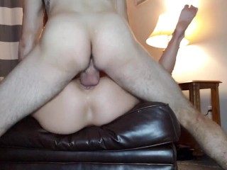 Joey Lee's First Footjob Rewarded with a Deep Creampie