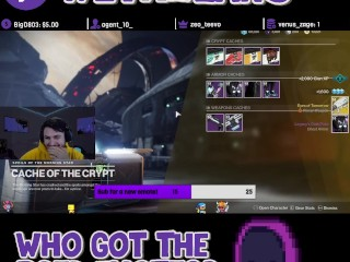 I was the lucky one - Destiny 2 Gameplay -Raid Gang Bang for Life