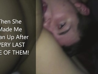 Cuckold Creampie Cleanup Compilation ( Cuckold Breeding Humiliation Story )