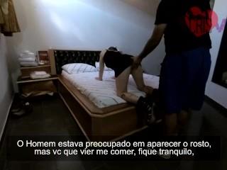 Casada Safada com Fã no motel Humilhando o Corno do Marido - Parte 1/2