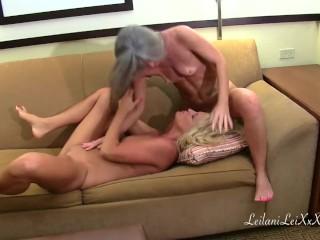 Samantha Ray Visits Leilani Lei in Florida