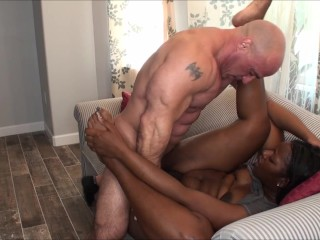 Naejae gets two creampies