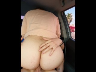 MY BIG ASS WORKMATE MAKES ME CUM TWICE ON LUNCH TIME