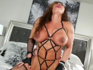 Cherry Candy - Muscle Babe and Ts Fuck 61