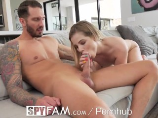 SPYFAM Step Sister Gets The Rough Fuck She Deserves