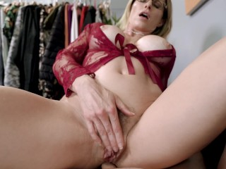 Horny Step Mom Wants Anal Sex before My Dad Comes Home - Cory Chase