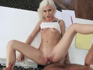 Petite Pussy Of All Natural Kiara Cole Gets Fucked Hard By Her Client