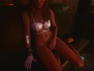 Cyberpunk 2077 SEX scene with Johnny Silverhand ( Keanu Reeves )