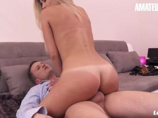 La Novice - Porn Audition Leads To Sex For Big Tits Newbie - AmateurEuro