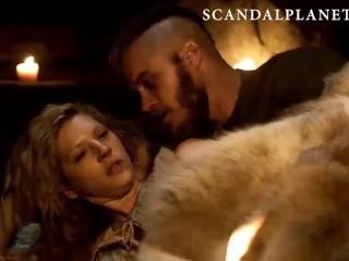 Katheryn Winnick Nude Sex Scenes from 'Vikings' On ScandalPlanetCom