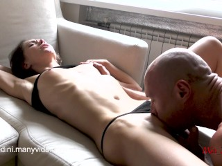 COLLEGE BABE MIA BANDINI GETS CRAZY FROM ROUGH ORGASM AND PASSIONATE SEX